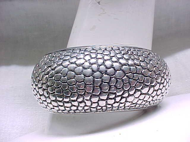 Huge Sterling Silver Cuff Bracelet - Signed