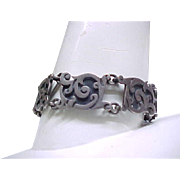 Exquisite Mexican Silver Bracelet - High Quality Taxco