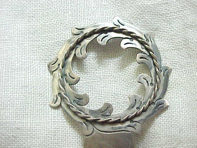 Sterling Silver Hair Ornament - Damaso Gallegos - Taxco