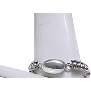 Good Looking Sterling Silver Bracelet - Different