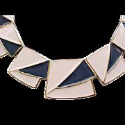 Spectacular Kunio Matsumoto Enameled Necklace