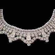 03 - Diamante Rhinestone Collar Style Necklace - So Beautiful!