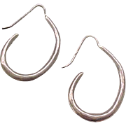 02 - Artisan Sterling Silver Earrings - Pierced Ears