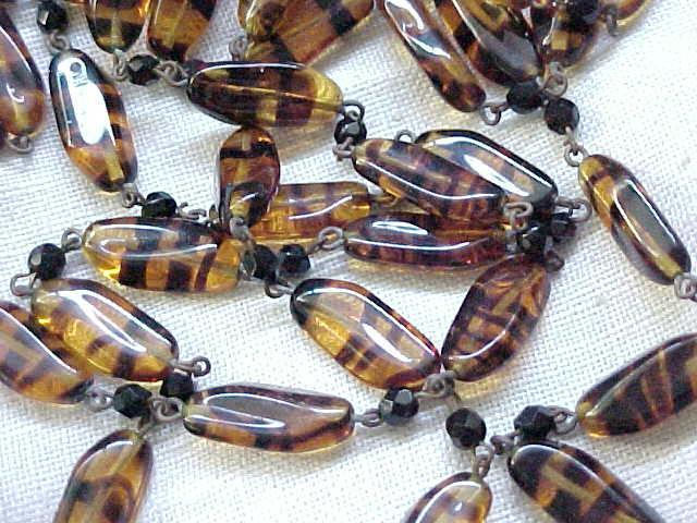 Long Tiger Eye - Natural Stone - Necklace