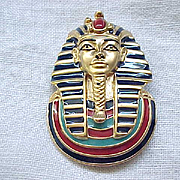Jewels of Tutankhamen - King Tut - Complete Set of Six Pins Plus Box