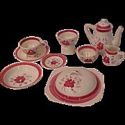 Blue Ridge Southern Potteries Breakfast Set
