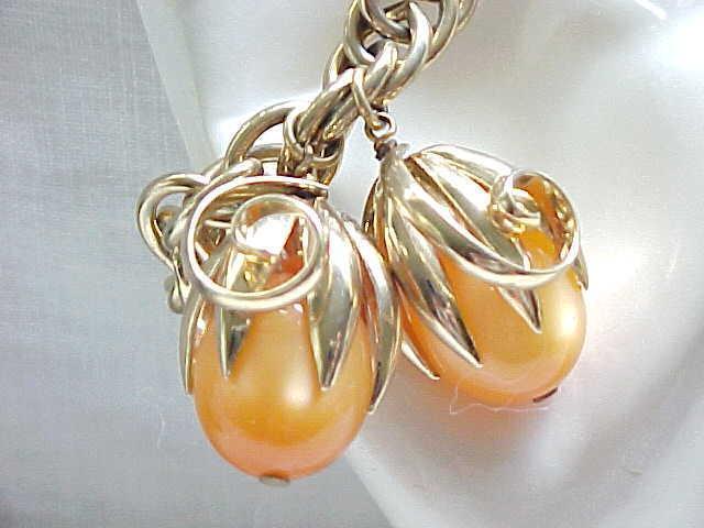 07 - Napier Cumquat Charm Bracelet - Elusive Apricot Color