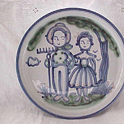 MA Hadley Round Serving Platter with Lip - Farmer & Wife