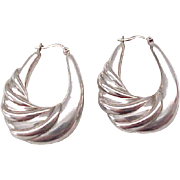 Beautiful Sterling Silver Earrings - Pierced Ears - Impressive