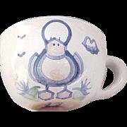 Hadley Pottery Jumbo Cup with Duck