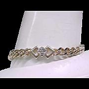 03 - Lovely Panetta Curb Chain Bracelet