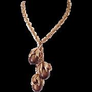 Stunning Napier Cumquat Parure - Necklace, Bracelet, Earrings