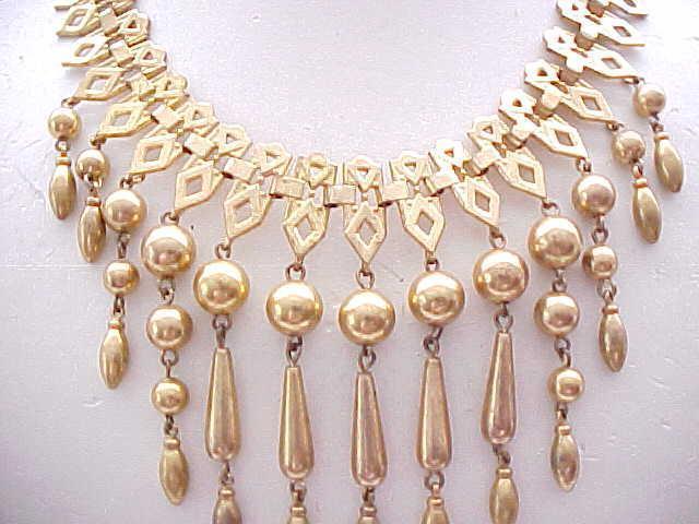 10 - Etruscan Style Bib Necklace