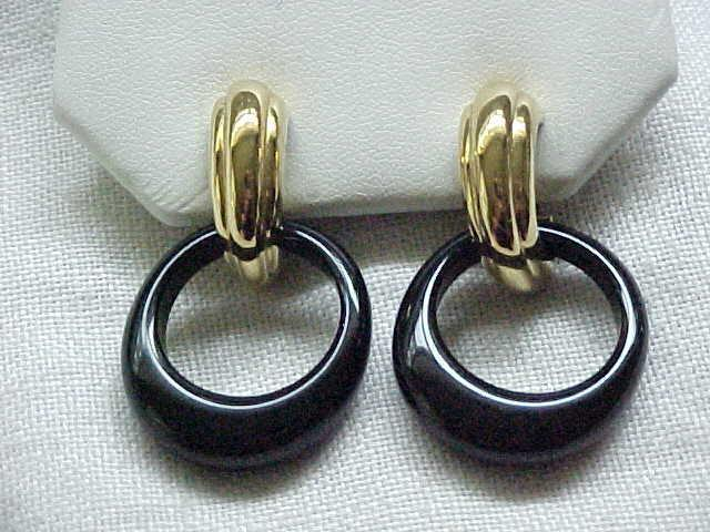 Trifari Earrings Interchangeable - 5 Hoops - MIB