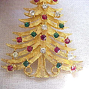 Stately Mylu Christmas Tree Pin