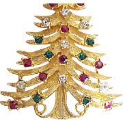 Stately Mylu Christmas Tree Pin