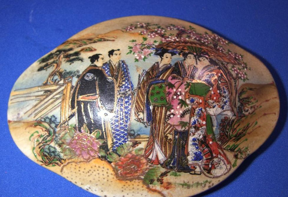 Satsuma Style Dish with Lid