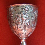 Silver Goblet With Cherubs