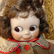 "14"" Googly-Eyed Doll"
