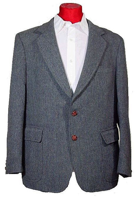 1960's Alexander Shields Park Avenue Men's Tweed Sport Coat