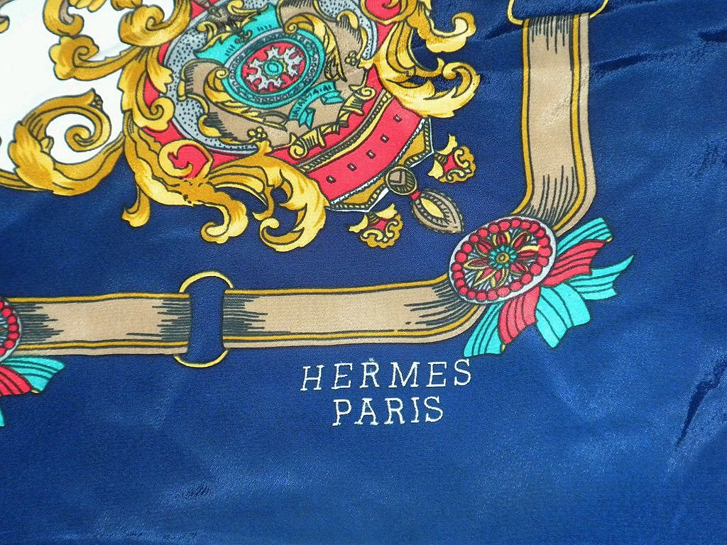 discount birkin bag - Vintage Silk Scarf Marked Hermes Paris from rlreproshop on Ruby Lane