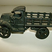 Cast Iron Toy Truck Early