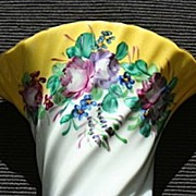 LImoges China Roses Wall Pocket