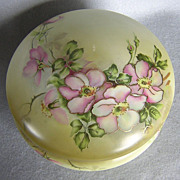 Nippon Porcelain Covered Box