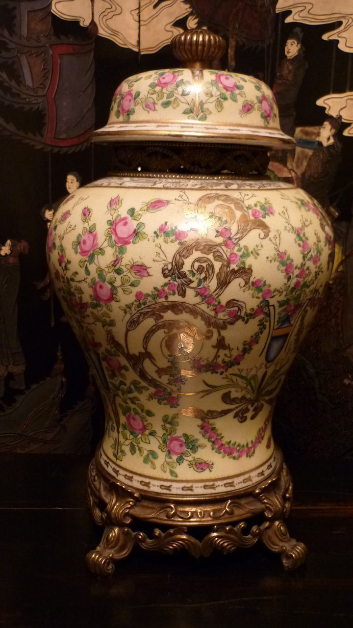 Chinese Porcelain And Bronze 1897 Jar From Rlreproshop On