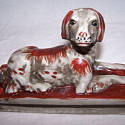 Staffordshire Dog Figurine