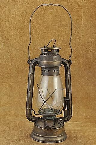 Old West Lantern Central Union Amp Pacific Railroad Brass