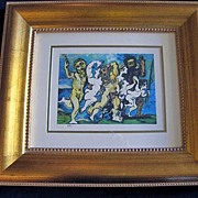 "Pablo Picasso Giclee Print ""Silenus Dancing"" Published by the Collection Domaine Picasso"