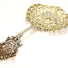 Antique English ? Sterling Silver Spoon Hallmarked