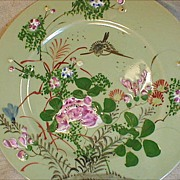 Oriental Plate..Japanese?? Mark??