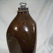 Albany glazed triangular or tri cornered stoneware jug