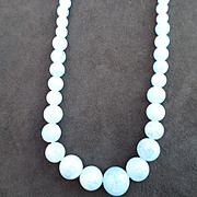 Beautiful Pale Blue Necklace