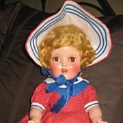 "Ideal Ginger 18"" hard plastic all original doll"