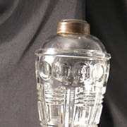 Antique Glass Whale Oil Lamp