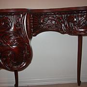 Kidney Shape Desk/Vanity