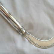 Balinese Silver 850 Sickle Knife