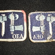 FIP OEA sword and axe patch.  Military?  Armed Forces?