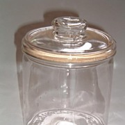 Apothecary Style Glass Biscuit Jar