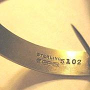 Vintage Sterling Silver Posy Holder