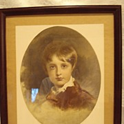 Braun Clement Childs Portrait Print