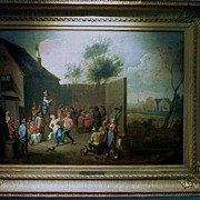 Tenier David (in the manner of) Oil on Canvas 19th C