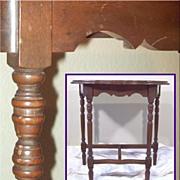 Antique Console Table, Sheraton Style? Circa Dating?