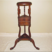 Victorian Wig or Hat Stand - ?
