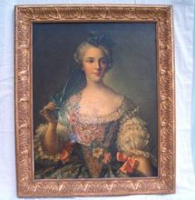 Antique French Portrait, Oil Painting, Export Question – Era – Circa Dating