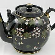 Victorian Double Spout Tea Pot