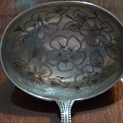 Sterling Silver Tiny Spoon with Large Bowl 1838 - 1890 Victoira I Reign